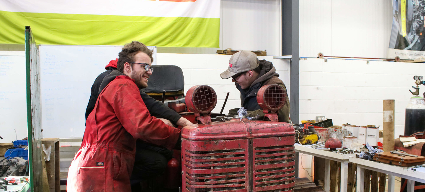 agricultural engineering courses at easton college